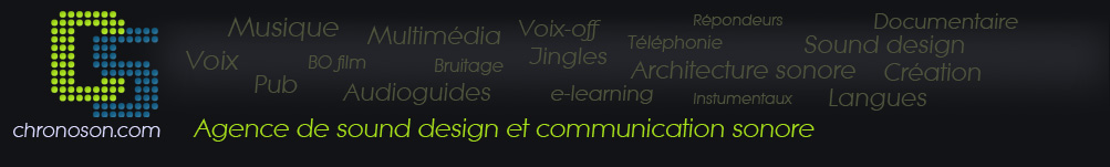 CHRONOSON, studio voix off, communication audio, création sonore et audioguide à Grenoble